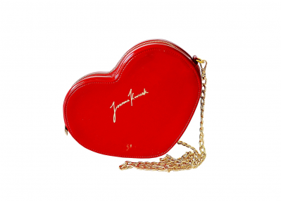 HEART LACQUER RED