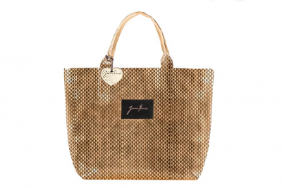 SHOPPERBAG GOLD PIXEL
