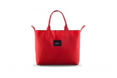 SHOPPERBAG RED MAT